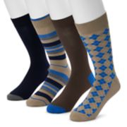 Men's Croft & Barrow® 4-pack Opticool Rayon From Bamboo Crew Socks