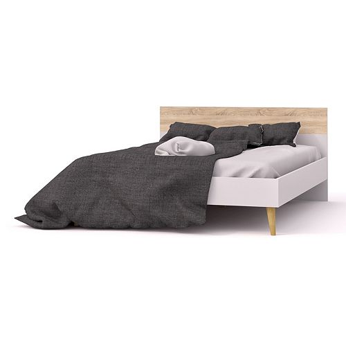 Diana Two-Tone Queen Bed