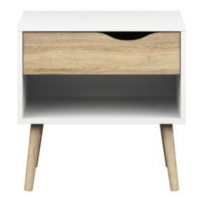 Diana Two-Tone Nightstand