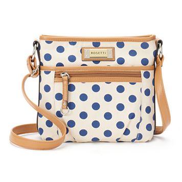 Rosetti Carlotta Polka Dot Crossbody Bag