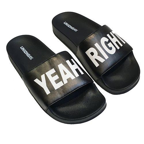 Unionbay ''Yeah Right'' Women's Slide Sandals