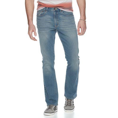 Men's Urban Pipeline® Slim Bootcut Jeans