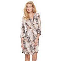 Women's Dana Buchman Henley Dress