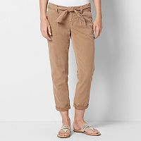 Women's SONOMA Goods for Life™ Cavalry Twill Utility Capris