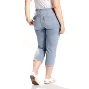 Plus Size Levi's Shaping Jean Capris