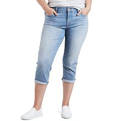 Plus Size Levi's Shaping Jean Capris
