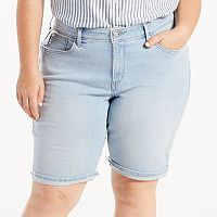 Plus Size Levi's® Perfectly Shaping Jean Bermuda Shorts