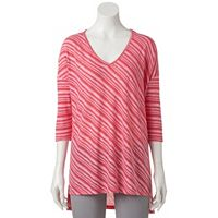 Women's Dana Buchman Striped Drop-Shoulder Top