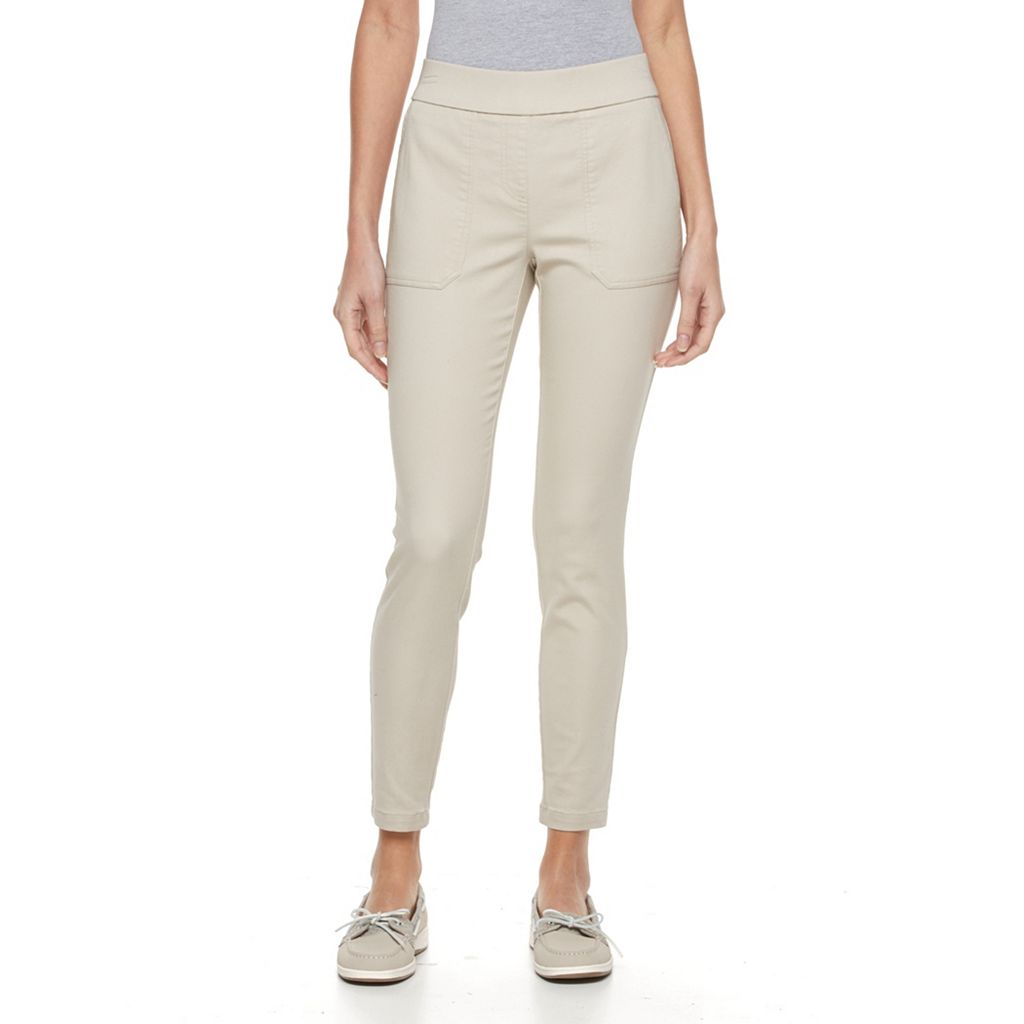 Petite Kate and Sam Skinny Ankle Pants