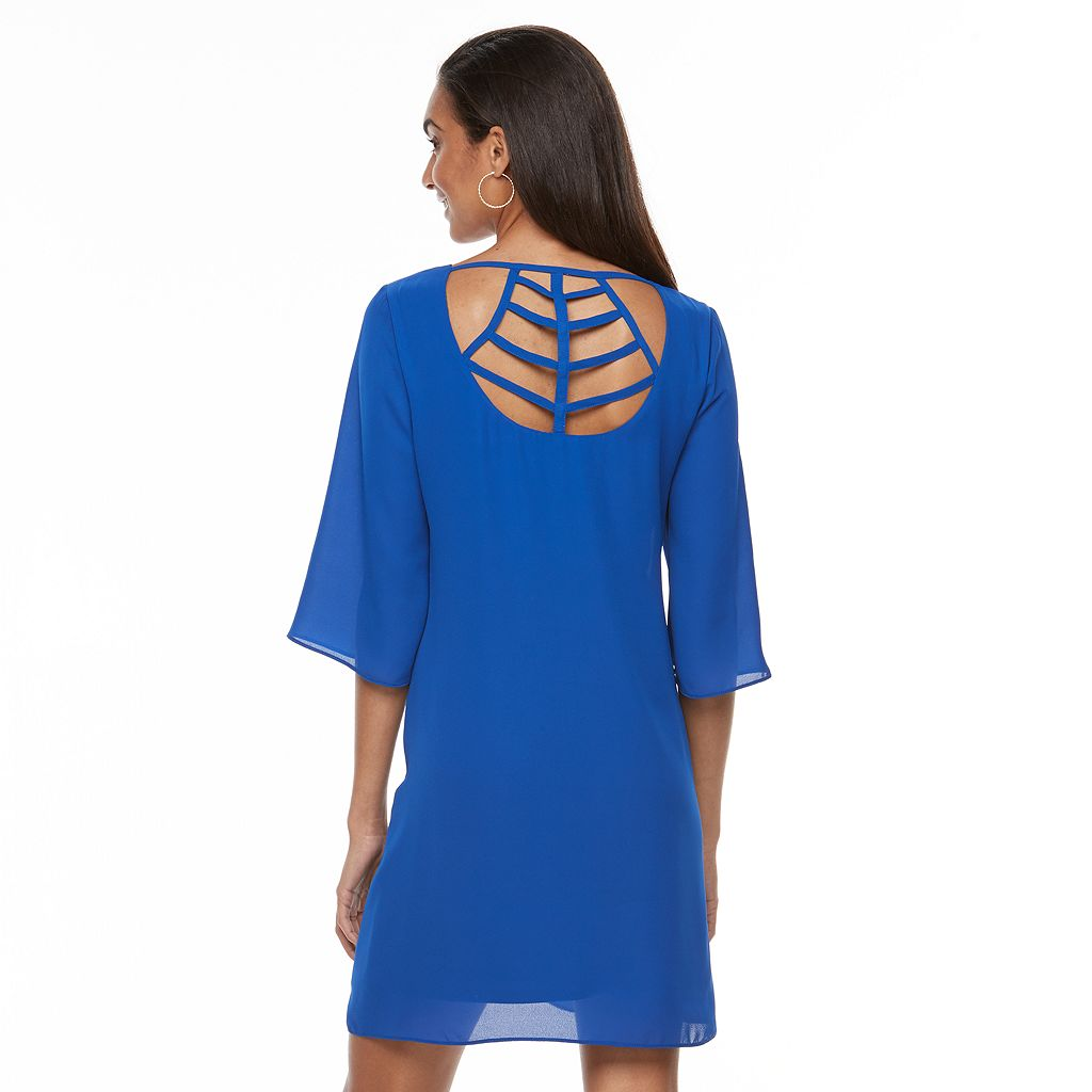 Women's Apt. 9® Strappy Cutout Shift Dress