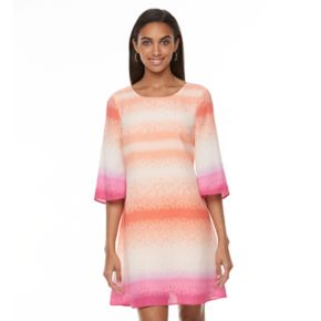 Women's Apt. 9® Strappy Cutout Shift Dress