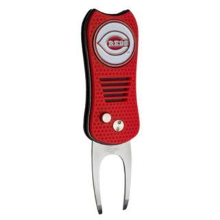 Team Golf Cincinnati Reds Switchfix Divot Repair Tool
