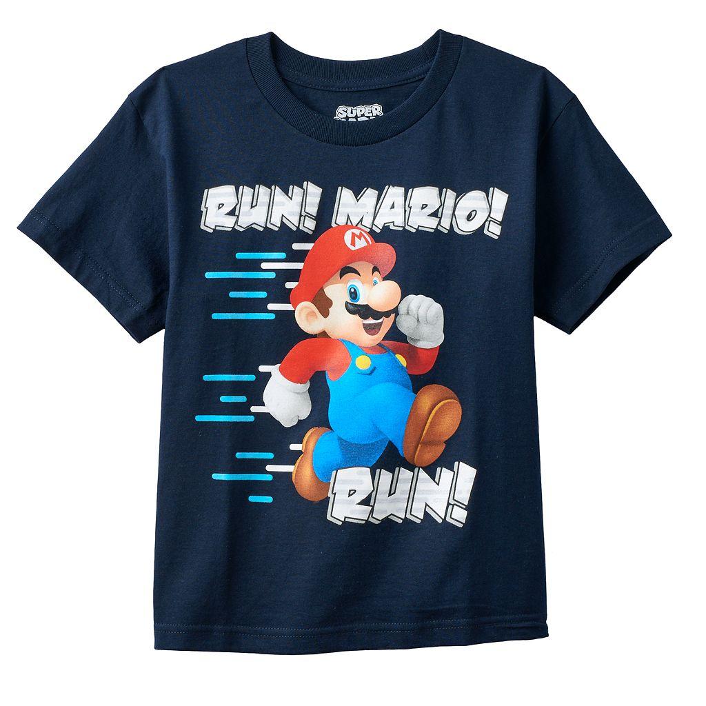 Boys 8-20 Super Mario Bros. Tee