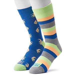 Men's Funky Socks 2-pack Angelfish Socks