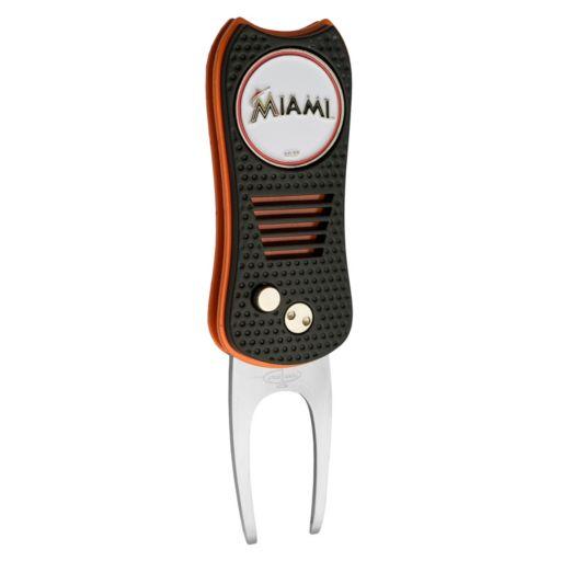 Team Golf Miami Marlins Switchfix Divot Repair Tool