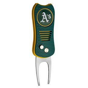 Team Golf Oakland Athletics Switchfix Divot Repair Tool