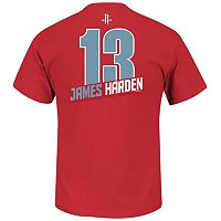 Boys 8-20 Majestic Houston Rockets James Harden Record Holder Name & Number Tee