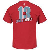 Boys 8-20 Majestic Houston Rockets James Harden Record Holder Name & Number Tee