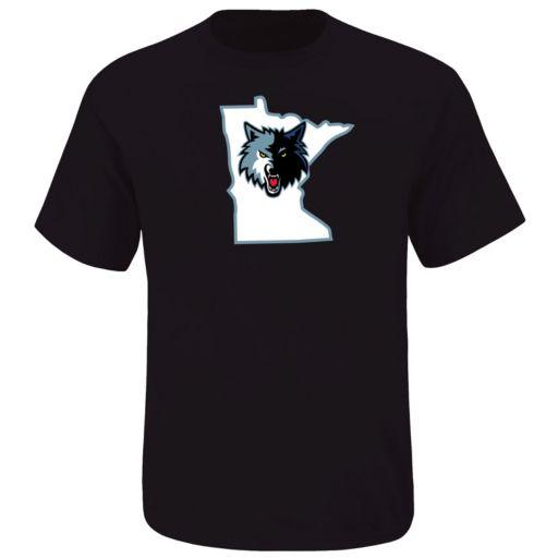 Boys 8-20 Majestic Minnesota Timberwolves Karl Anthony Name & Number Tee