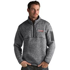 Men's Antigua Atlanta Braves Fortune Pullover