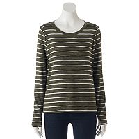 Juniors' Cloud Chaser Marled Sweater