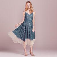 LC Lauren Conrad Dress Up Shop Lace Fit & Flare Dress - Women's