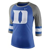 Women's Nike Duke Blue Devils Striped Sleeve Tee