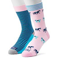 Men's Funky Socks 2-pack Walkies Derby Socks