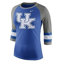 Women's Nike Kentucky Wildcats Striped Sleeve Tee