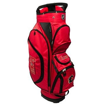 Team Golf Calgary Flames Clubhouse Golf Cart Bag