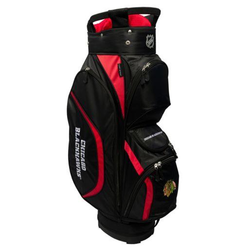 Team Golf Chicago Blackhawks Clubhouse Golf Cart Bag