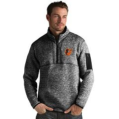 Men's Antigua Baltimore Orioles Fortune Pullover