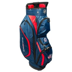 Team Golf Columbus Blue Jackets Clubhouse Golf Cart Bag