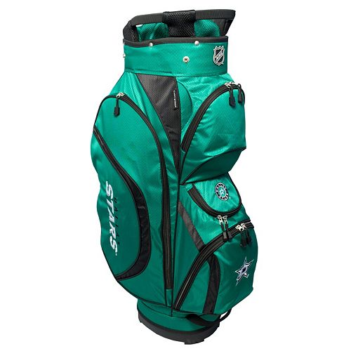 Team Golf Dallas Stars Clubhouse Golf Cart Bag