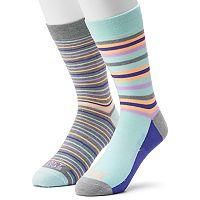 Men's Funky Socks 2-pack Race Stripe Derby Socks