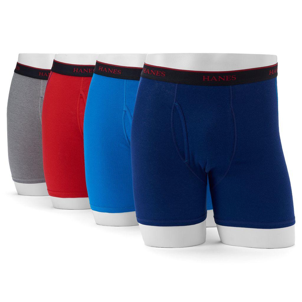 Men's' Hanes Comfort Cool 4-Pack Sport Boxer Briefs