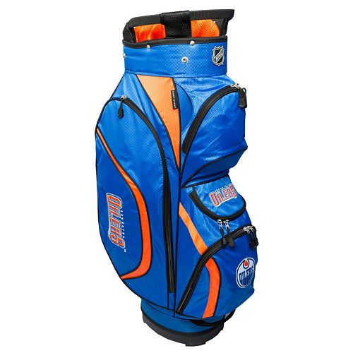 Team Golf Edmonton Oilers Clubhouse Golf Cart Bag