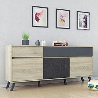 Nashville Two-Tone Sideboard Storage Cabinet