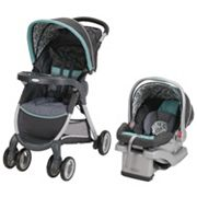 Graco FastAction Fold Click Connect Travel System with SnugRide Click Connect 30