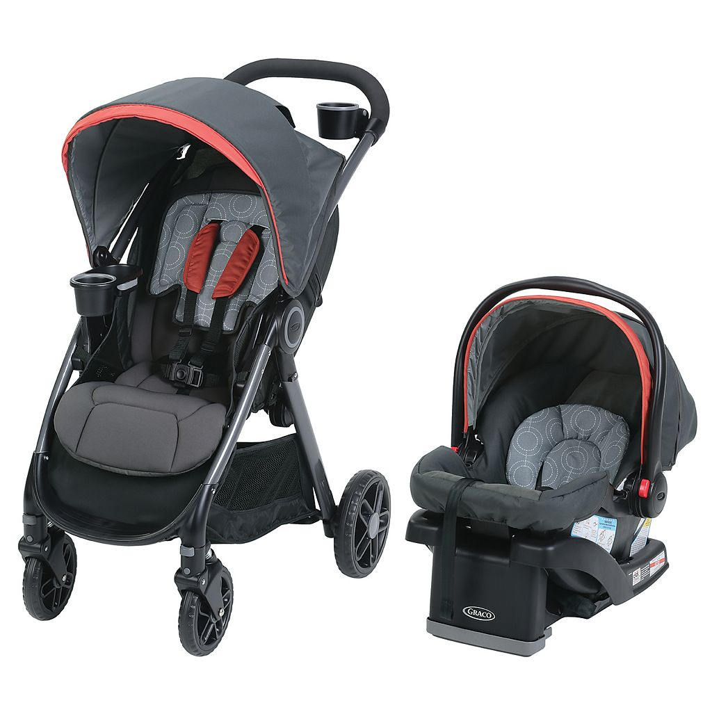 Graco FastAction DLX Travel System Stroller