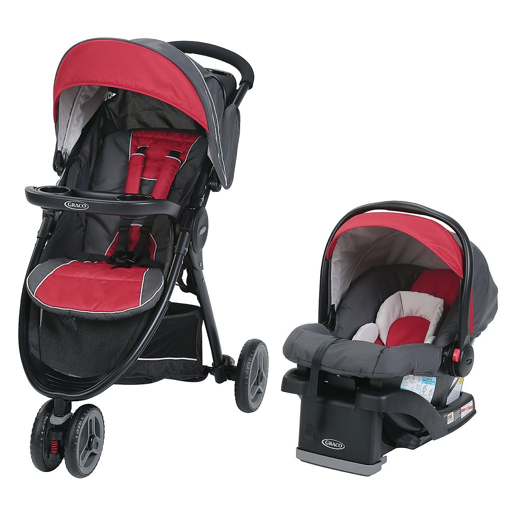 Graco FastAction Sport LX Click Connect Travel System Stroller