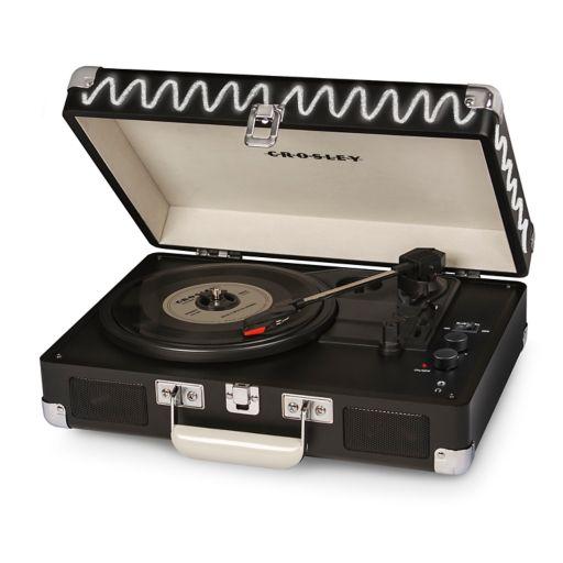 Crosley Cruiser Deluxe Portable Bluetooth Turntable