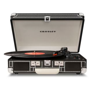 Crosley Cruiser Deluxe Portable Bluetooth Turntable