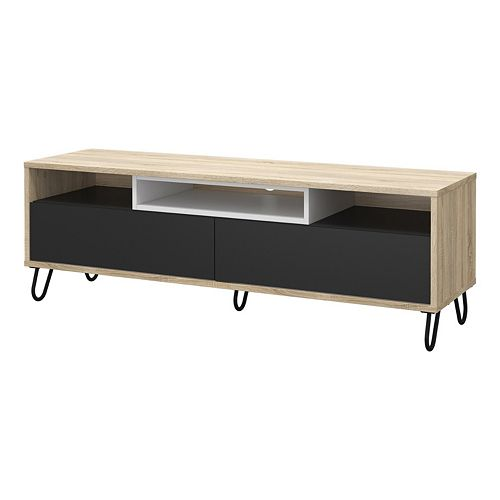 Match Two-Tone TV Stand