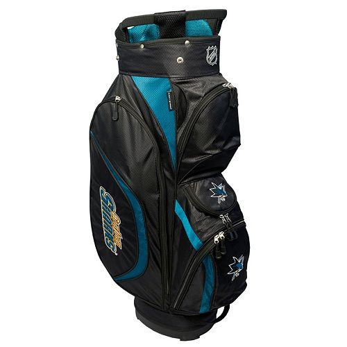 Team Golf San Jose Sharks Clubhouse Golf Cart Bag