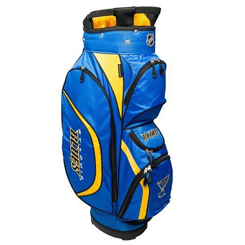 Team Golf St. Louis Blues Clubhouse Golf Cart Bag