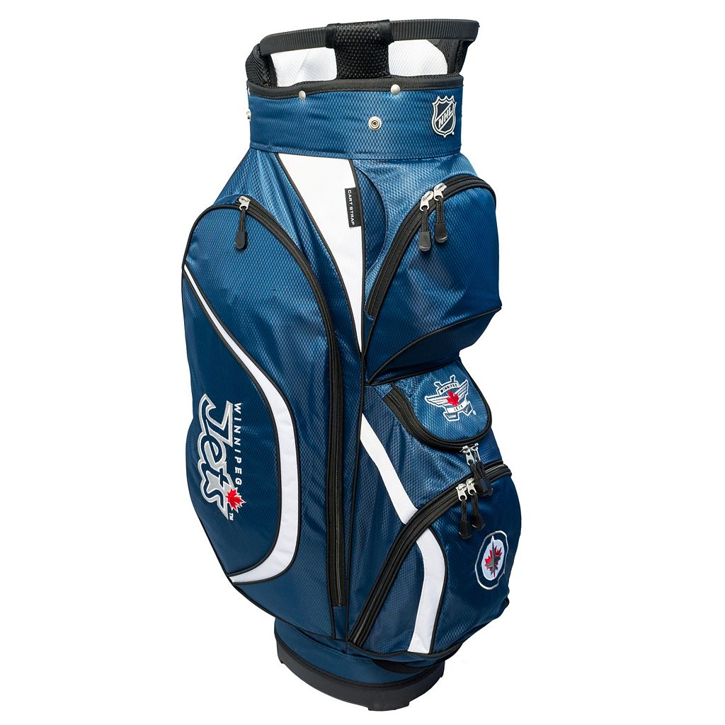 Team Golf Winnipeg Jets Clubhouse Golf Cart Bag