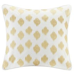 INK+IVY Nadia Dot Embroidered Euro Sham