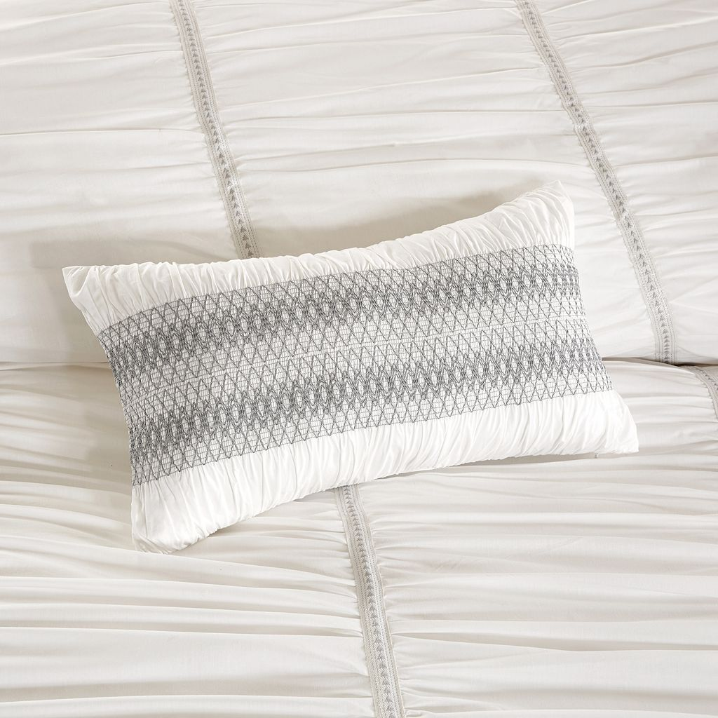 INK+IVY 3-piece Reese Duvet Cover Set
