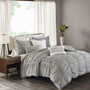 INK+IVY 3 pc Reese Duvet Cover Set